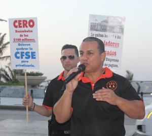 Licenciado Jose E. Ortiz Torres Presidente Asociacion Empleados Gerenciales CFSE 2